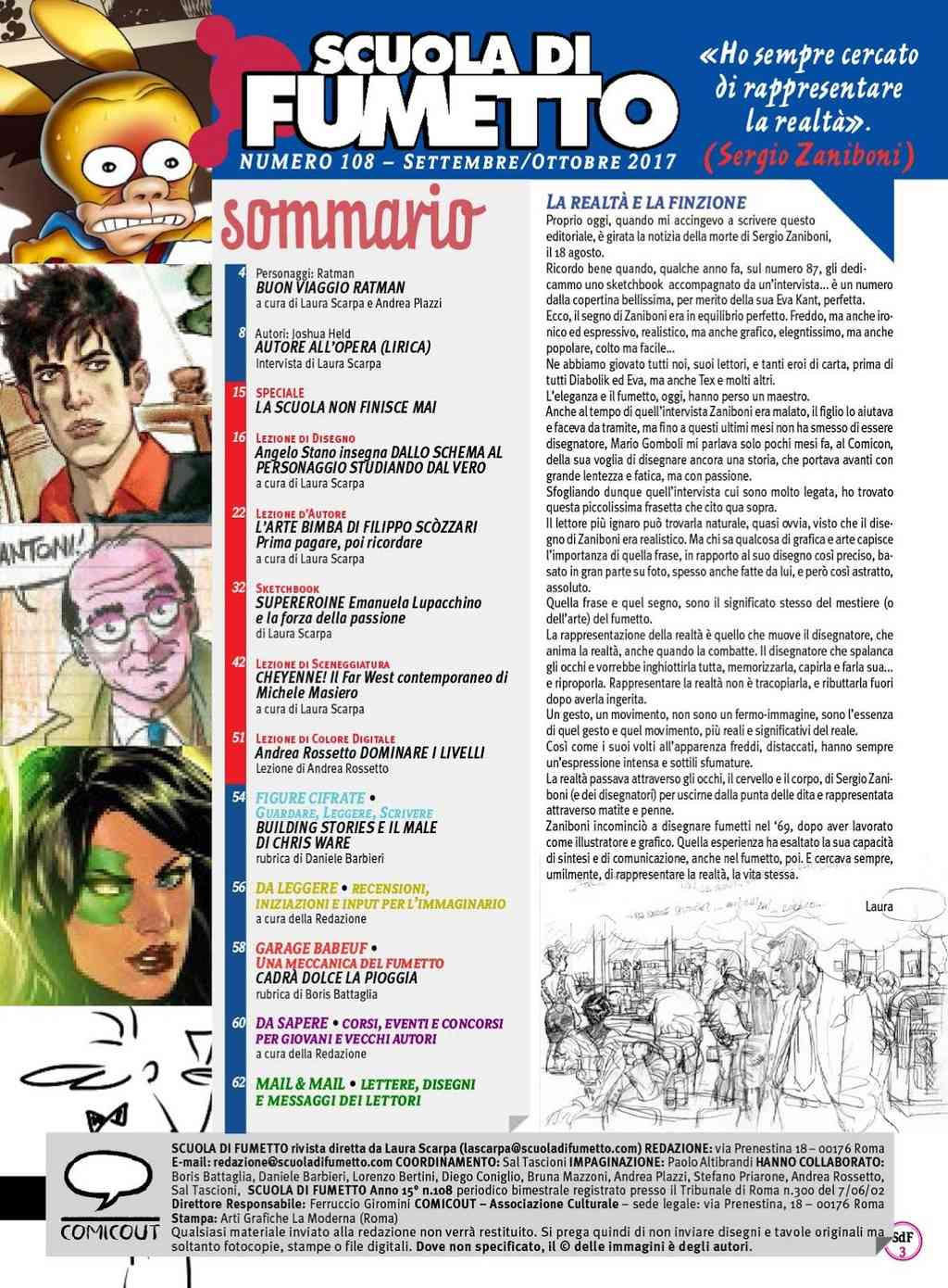 Bandes dessinées italiennes - Page 15 Scuola13