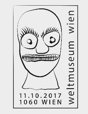 """Sondermarke """"Weltmuseum Wien"""" 1011_m13"""
