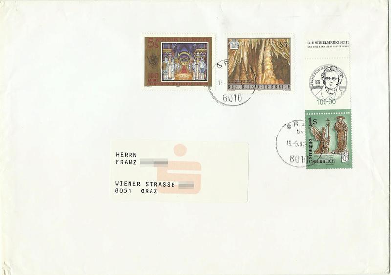 """Freimarkenserie """"Kunstwerke aus Stiften und Klöstern"""" - Seite 2 1997_k10"""