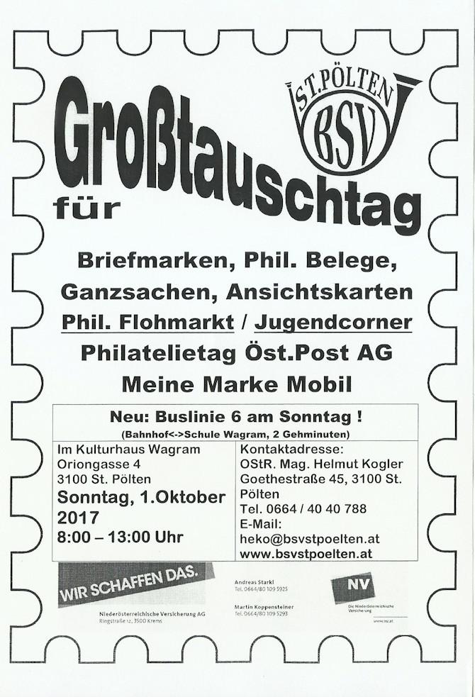 Großtauschtag St.Pölten 1. Oktober Tt_stp10