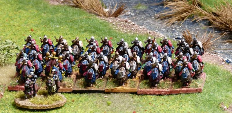 Premiers pas à Warmaster Ancients P1180455