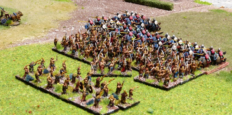 Premiers pas à Warmaster Ancients P1180463