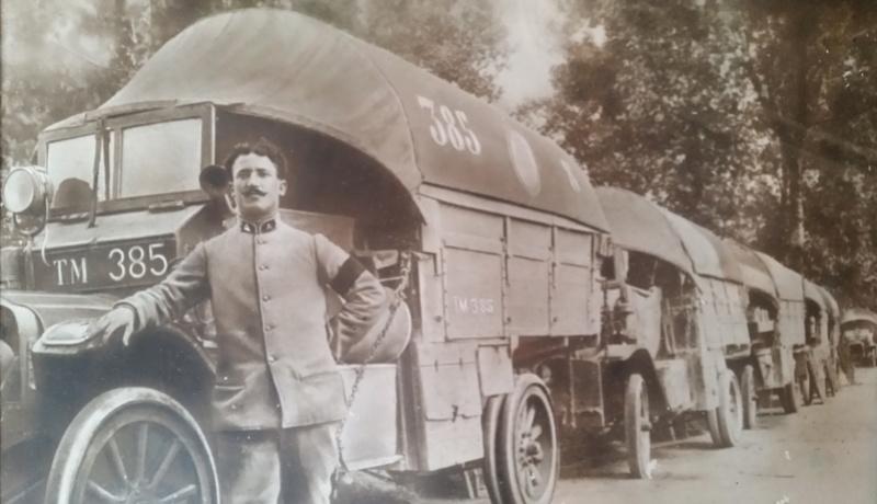 Mannequin Conducteur d'Autos Francais 1916-1918 20170816