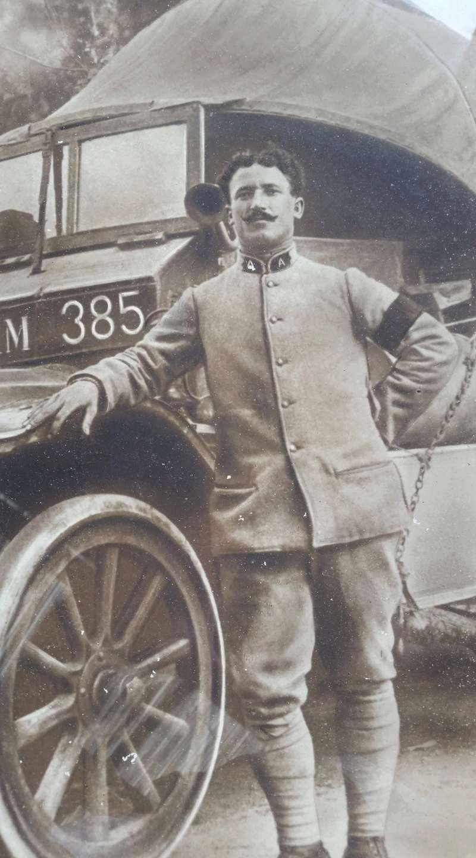 Mannequin Conducteur d'Autos Francais 1916-1918 20170817