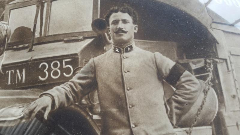 Mannequin Conducteur d'Autos Francais 1916-1918 20170818