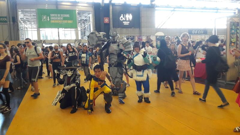 Japan Expo quelque photos 'Du Renard' perdu dans Nawak. 20170715
