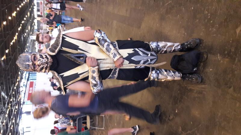 Japan Expo quelque photos 'Du Renard' perdu dans Nawak. 20170717
