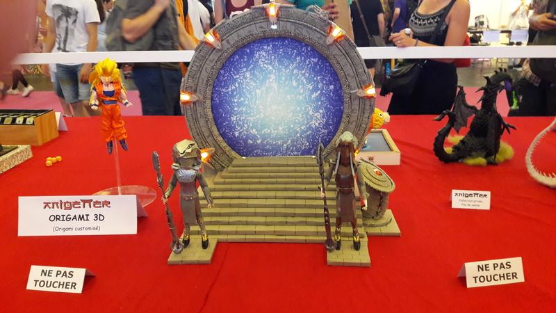 Japan Expo quelque photos 'Du Renard' perdu dans Nawak. 20170724