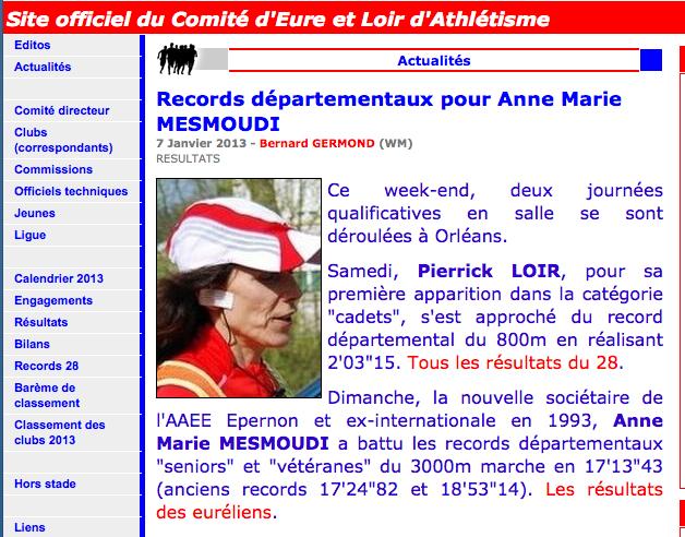 Anne-Marie MESMOUDI   Record10