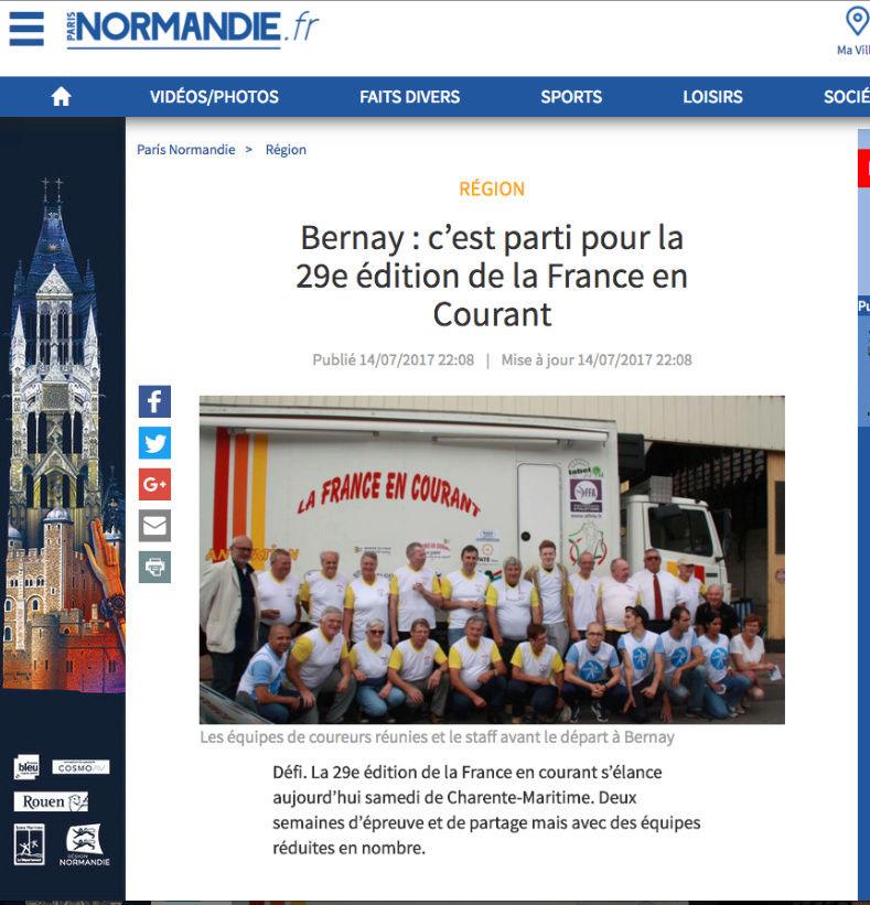 la France en courant ,Courir pour la vie courir pour Curie Sans_t15