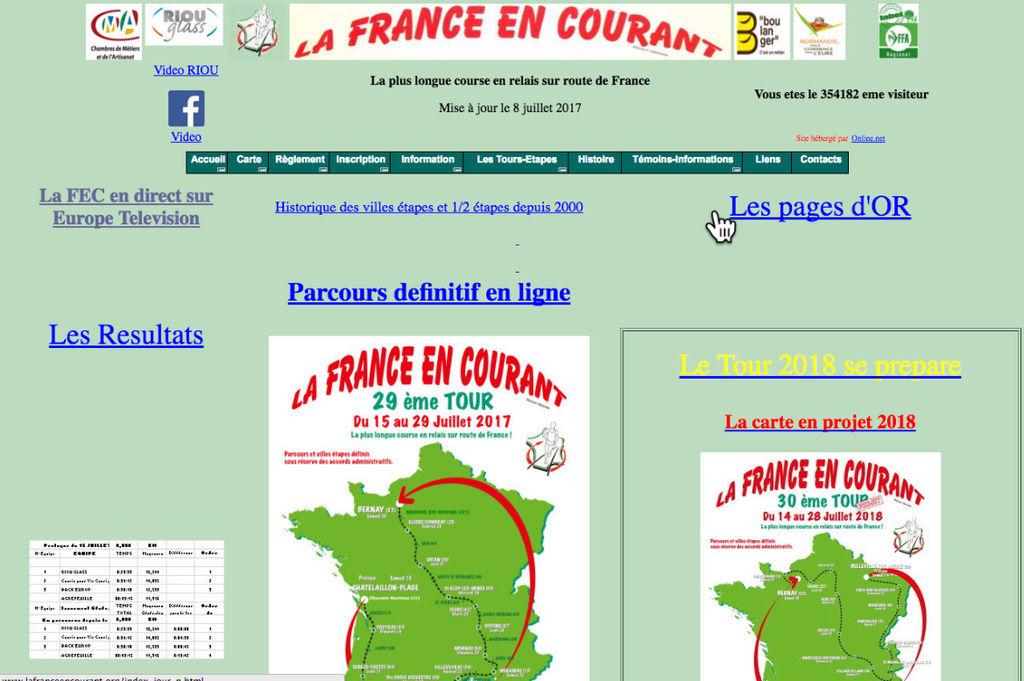 la France en courant ,Courir pour la vie courir pour Curie Sans_t16
