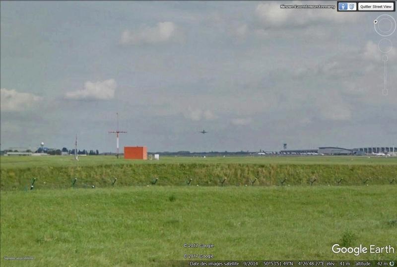 Avion  en VOL  vue Street View Avion10