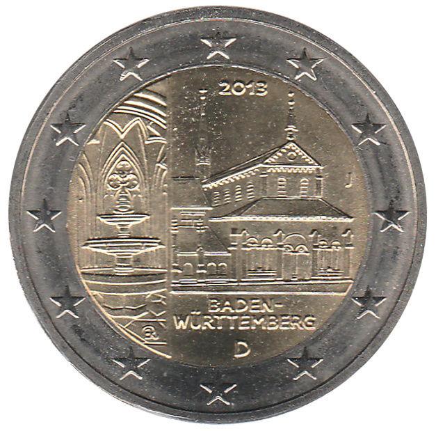 Monuments sur les pièces d'Euro  De_2i_10