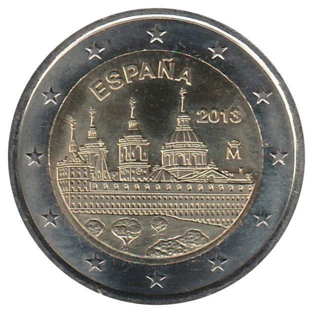 Monuments sur les pièces d'Euro  Es_2i_10