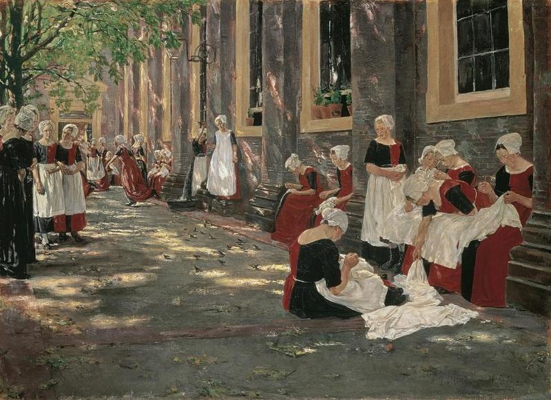 Street View : Lieux représentés sur des peintures célèbres (ou un peu moins) - Page 4 Staede10