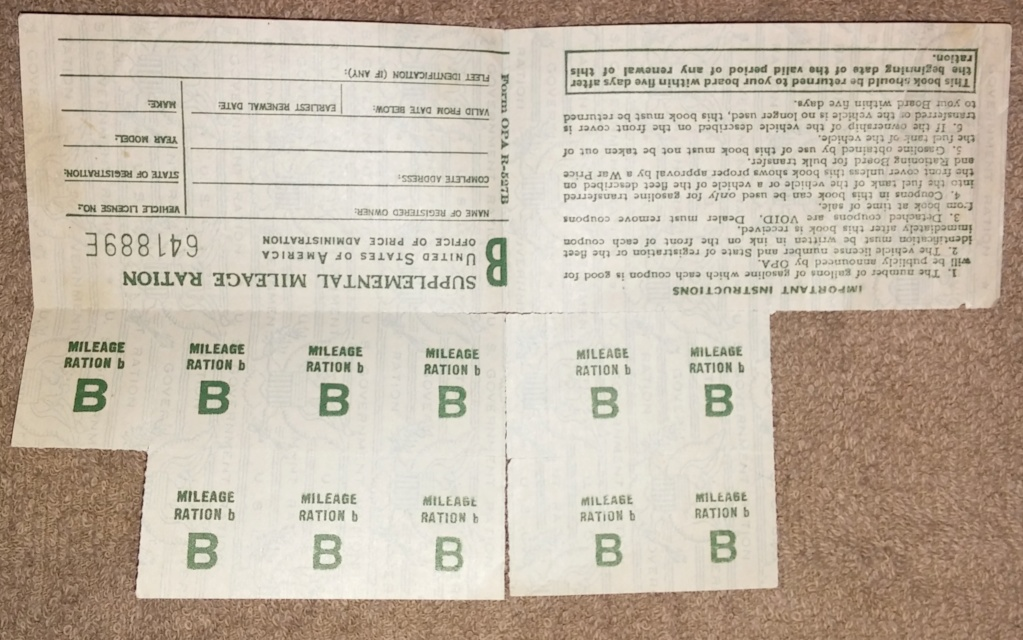 WW2 Rationing 19700116