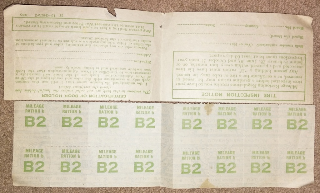 WW2 Rationing 19700117