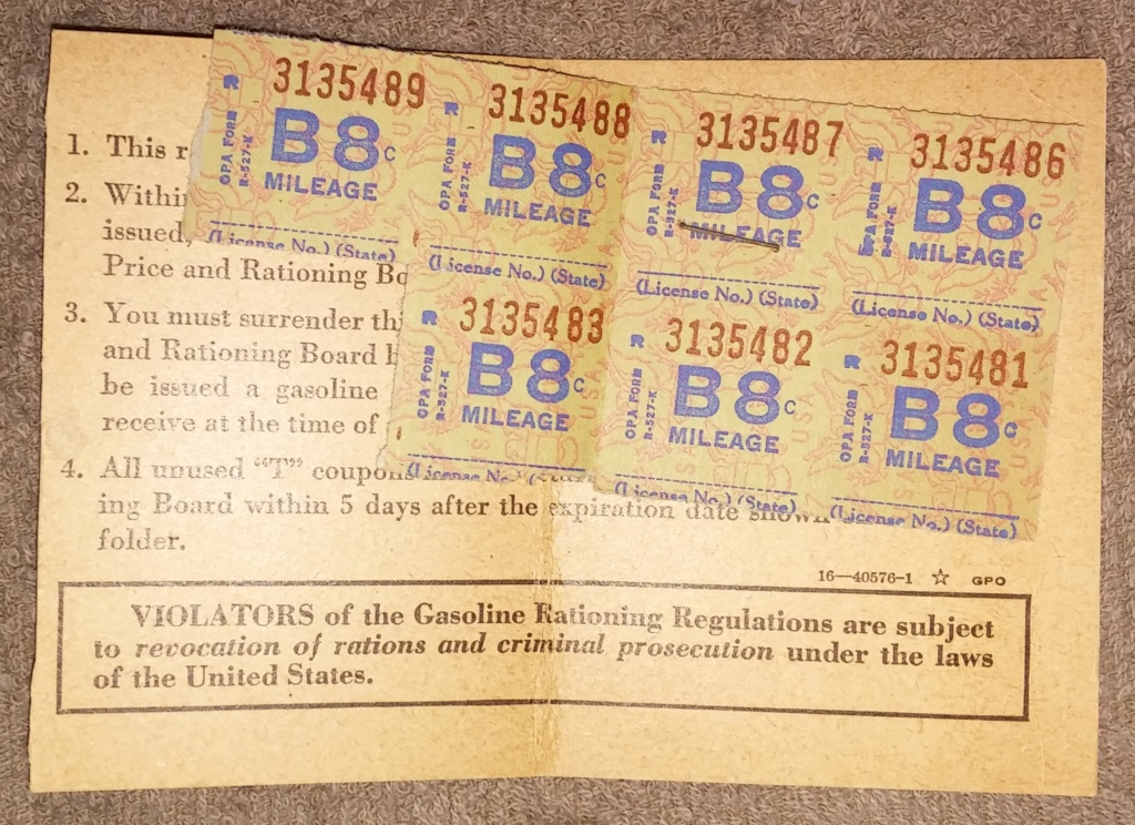 WW2 Rationing 19700127