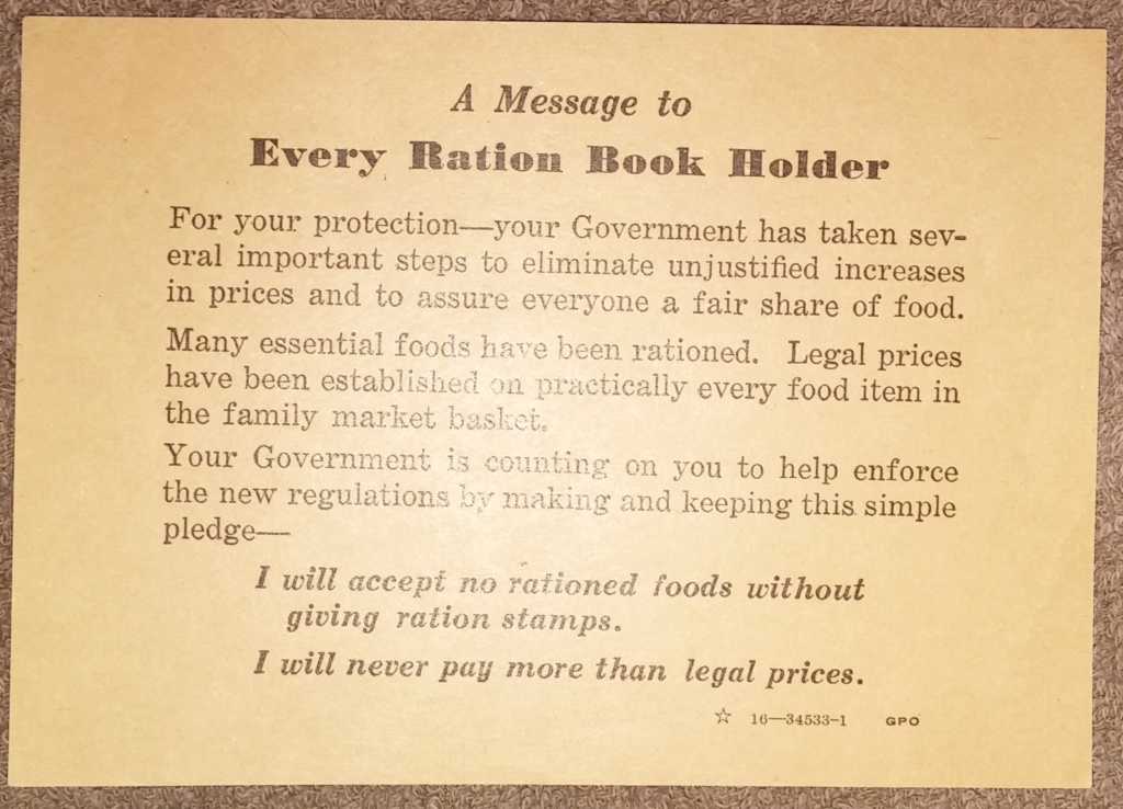WW2 Rationing 19700149