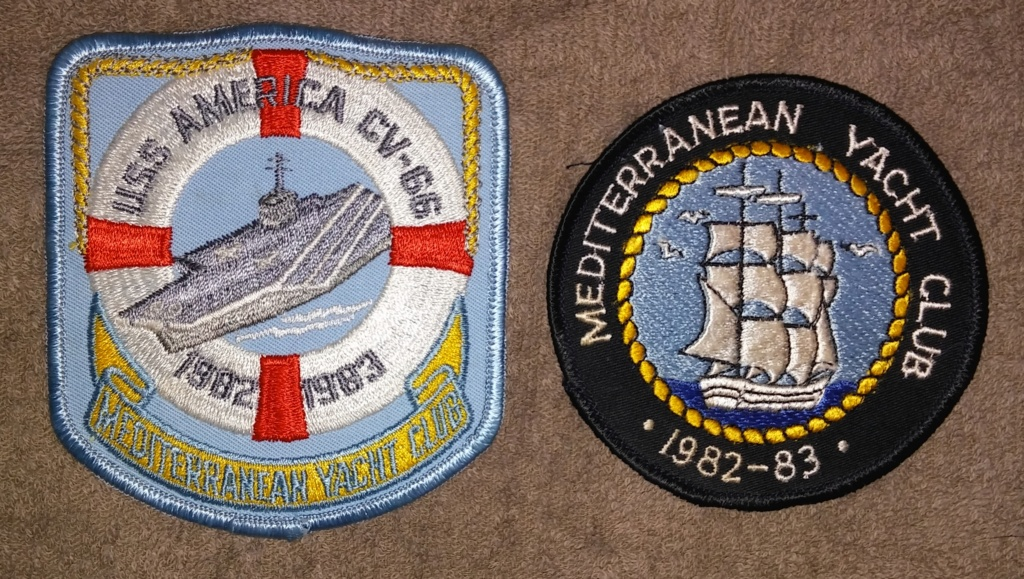 USS America (CV-66) Cruise Patches 19700229