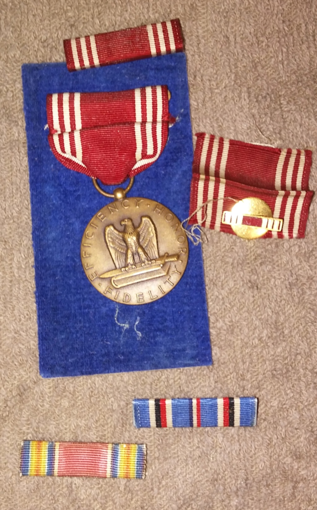 Things from my Uncle Russel's time in the 801st Tank Destroyer Bn. in WW2 19700237