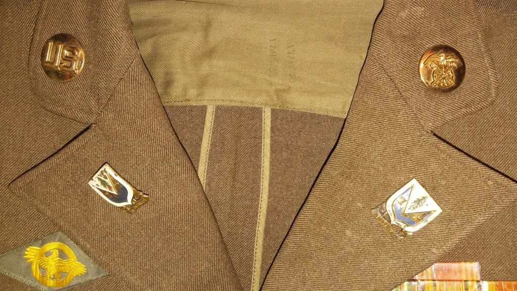 US Army 78th Division Technical Sergeant Uniform and Relics 19700274