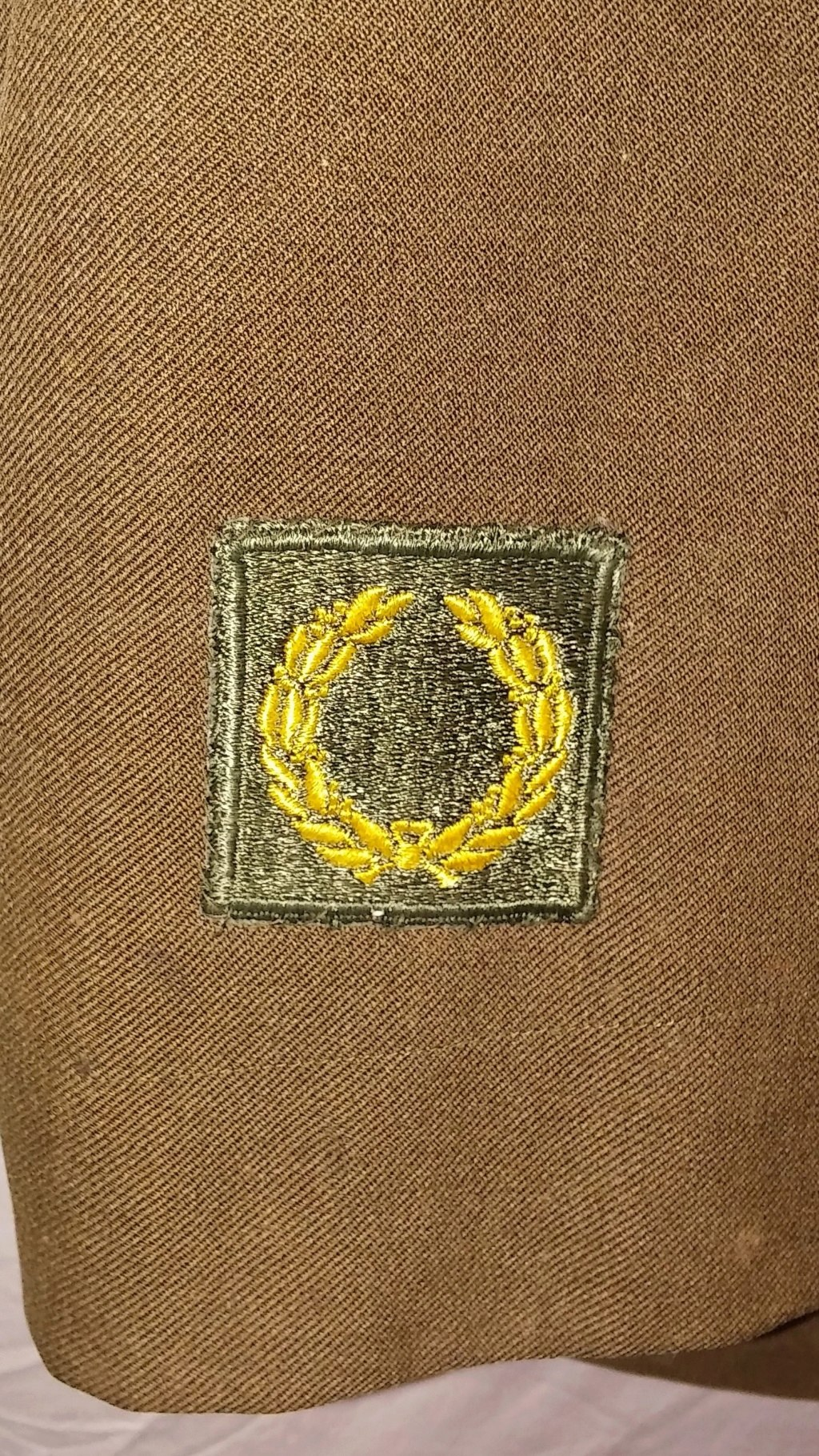 US Army 78th Division Technical Sergeant Uniform and Relics 19700277