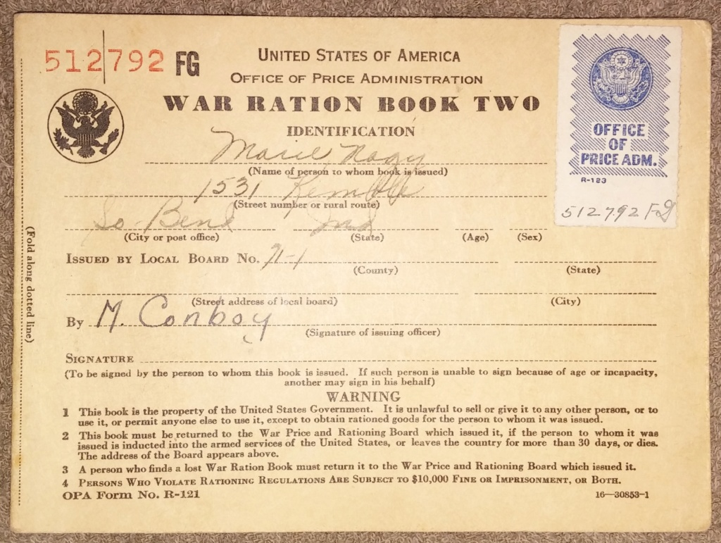 WW2 Rationing 19700387