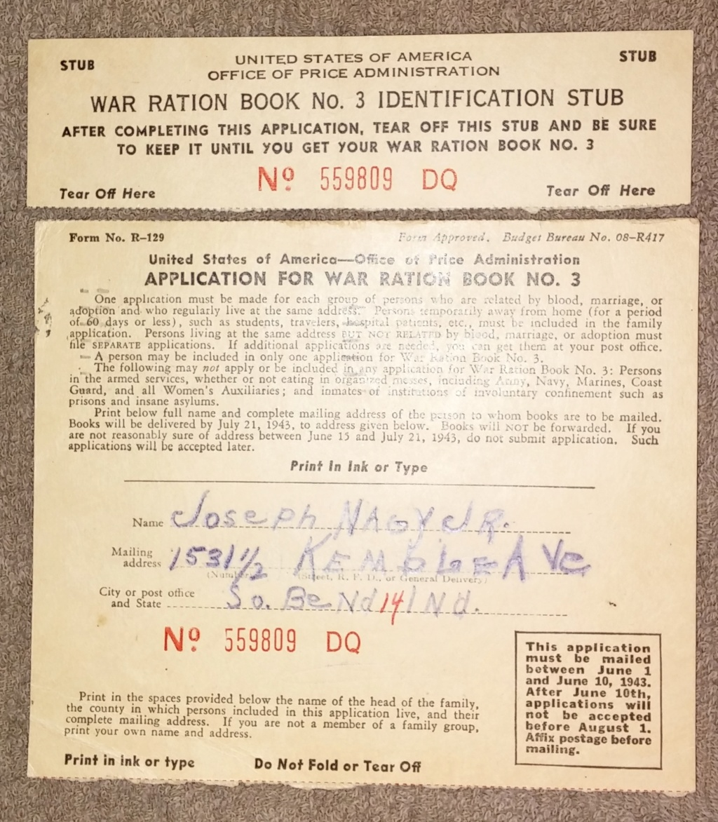 WW2 Rationing 19700389