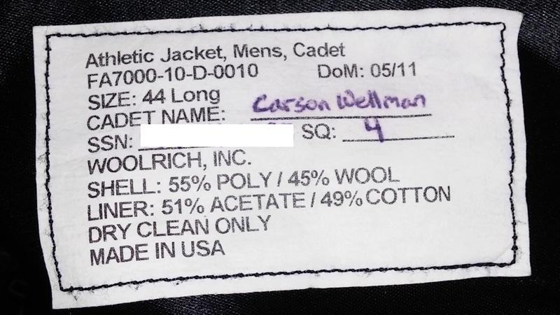 USAF Academy Athletic Jacket 20170640