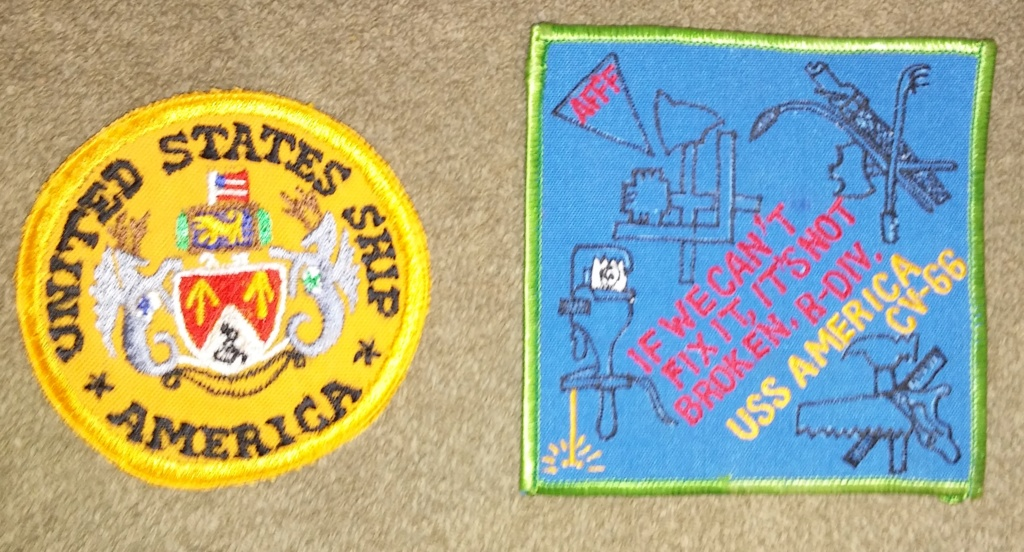 USS America (CV-66) Cruise Patches 20190411
