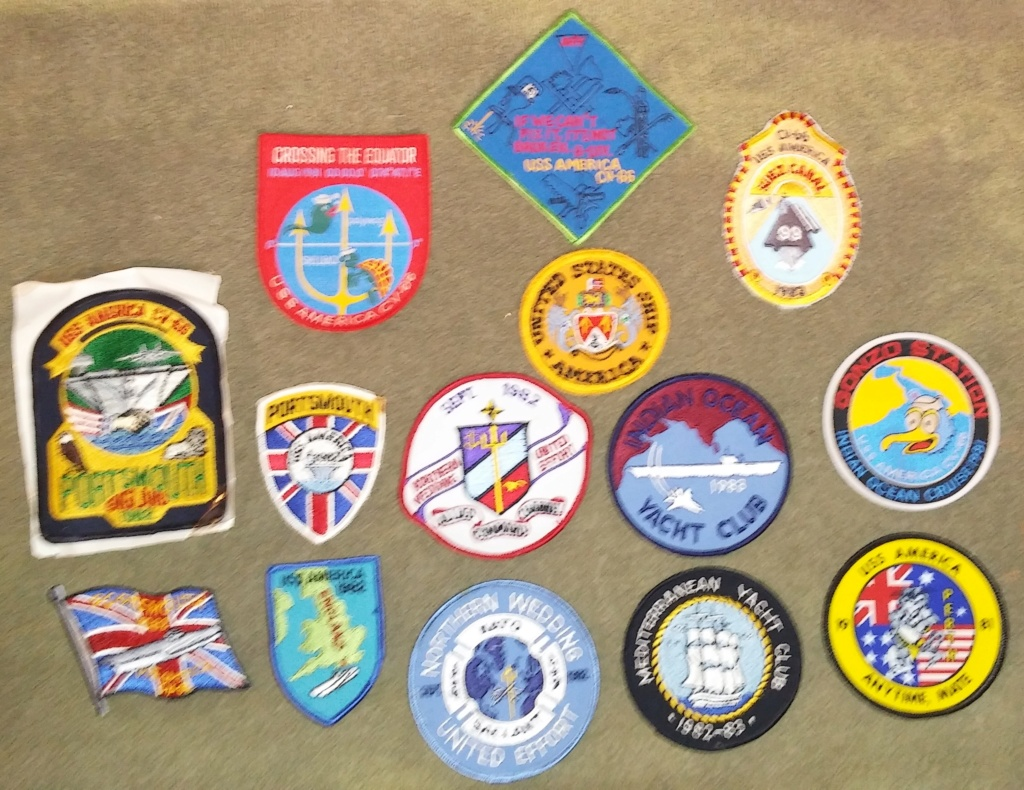 USS America (CV-66) Cruise Patches 20190412