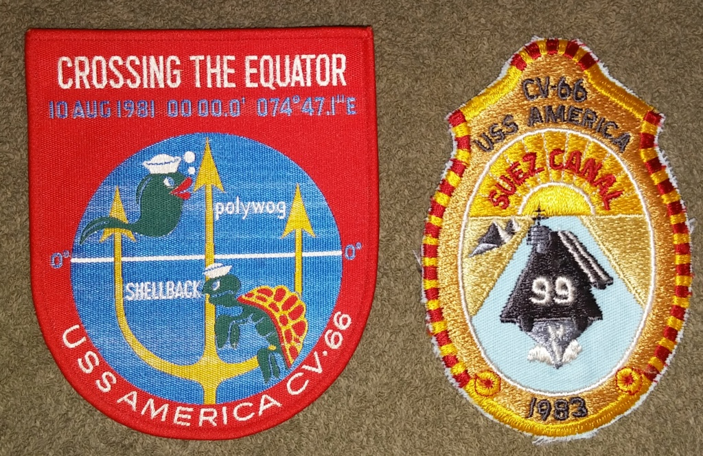USS America (CV-66) Cruise Patches 20190413