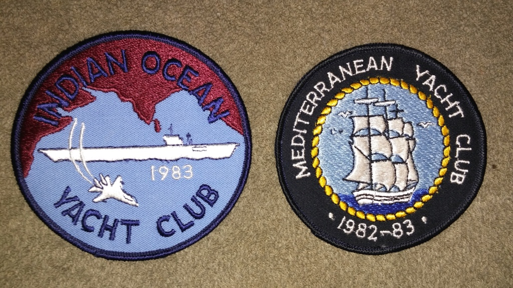 USS America (CV-66) Cruise Patches 20190415