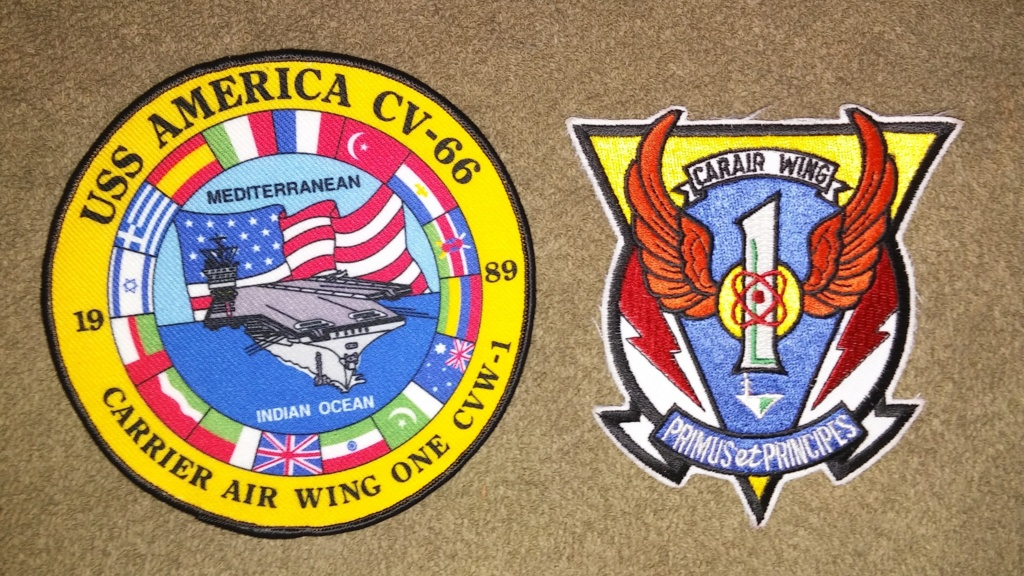 USS America (CV-66) Cruise Patches 20190425