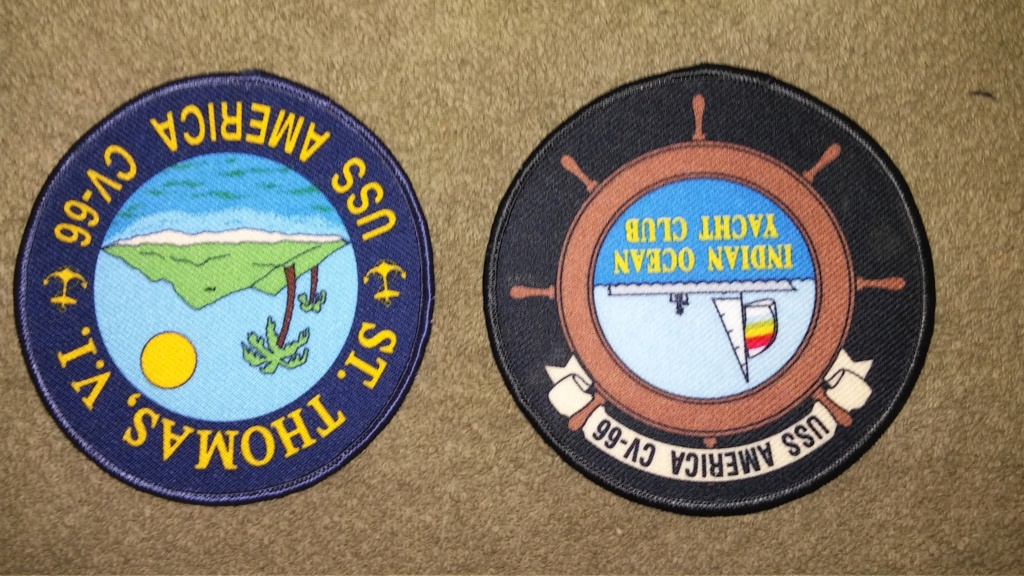 USS America (CV-66) Cruise Patches 20190427