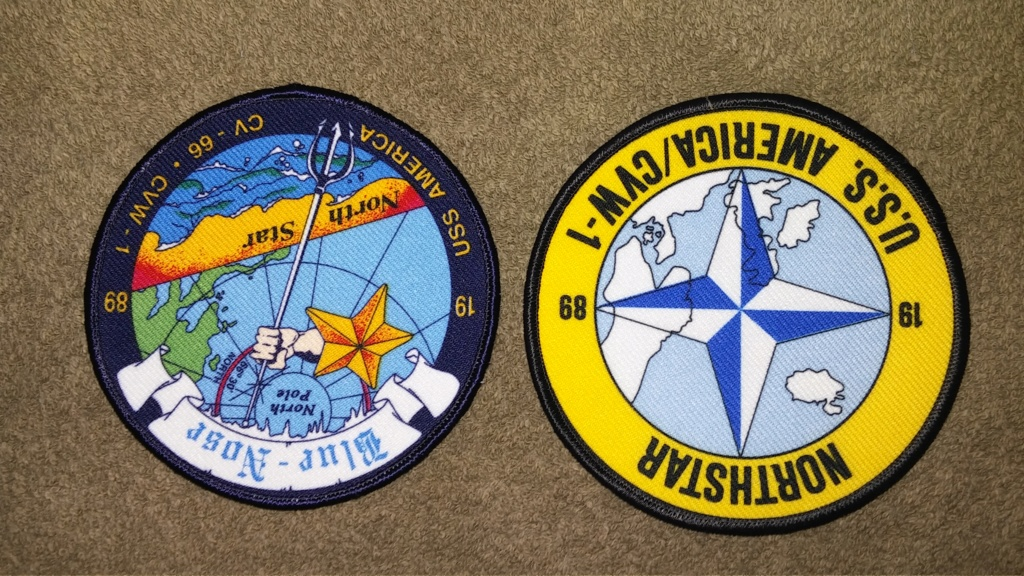 USS America (CV-66) Cruise Patches 20190429