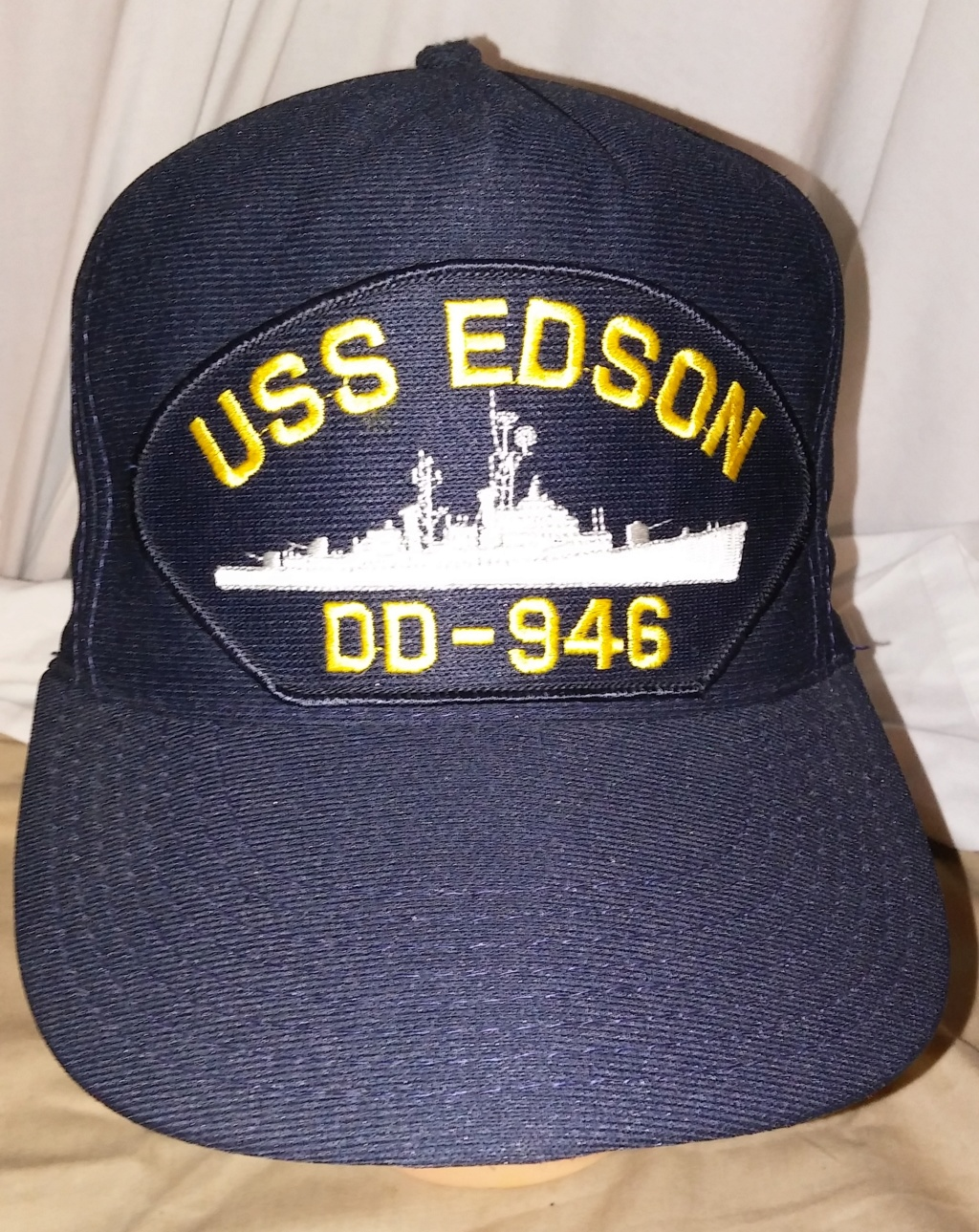 USN Blue Caps Edson10