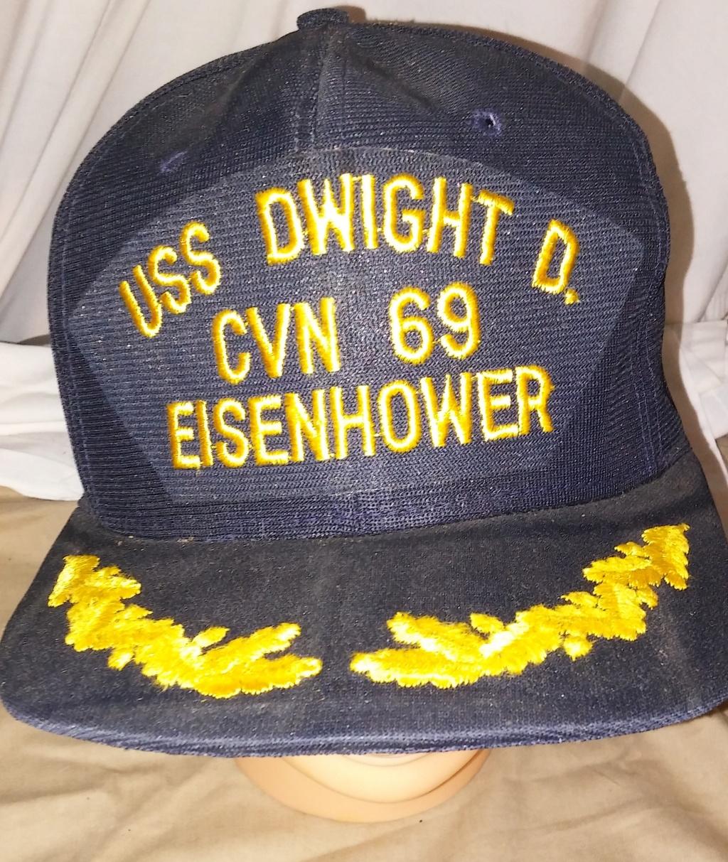USN Blue Caps Eisenh10