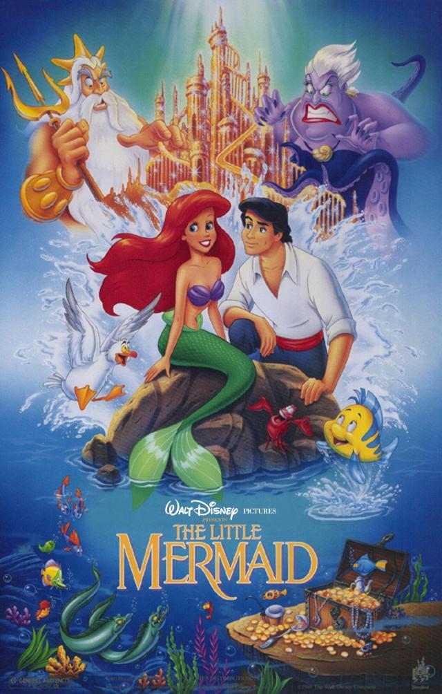 La petite sirène Disney 1989s110