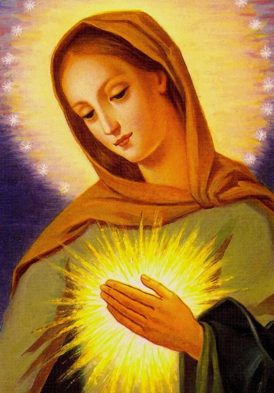 L'humilité de la Vierge (I) + (II) + (III) Coeur_10