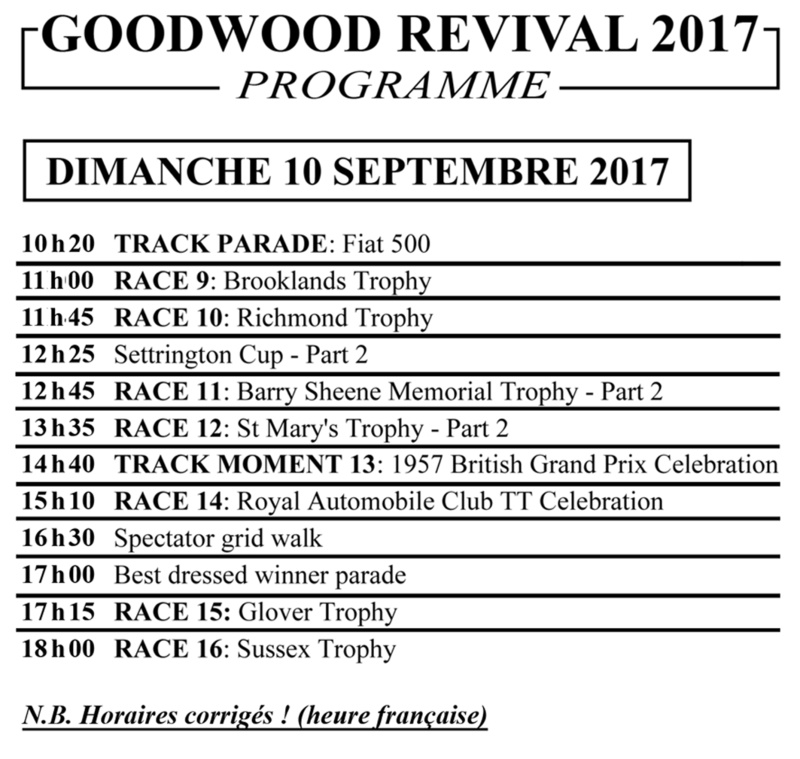 GOODWOOD REVIVAL 2017 Goodwo11