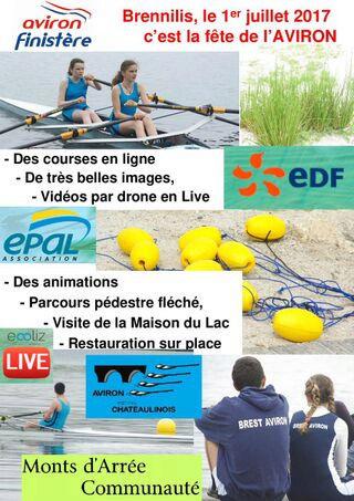 Championnat d'Aviron du Finistère et randonnée Aviron12