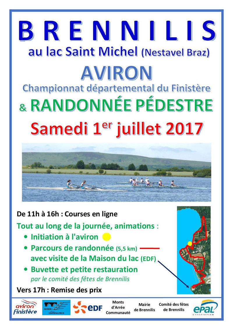 Championnat d'Aviron du Finistère et randonnée Aviron13