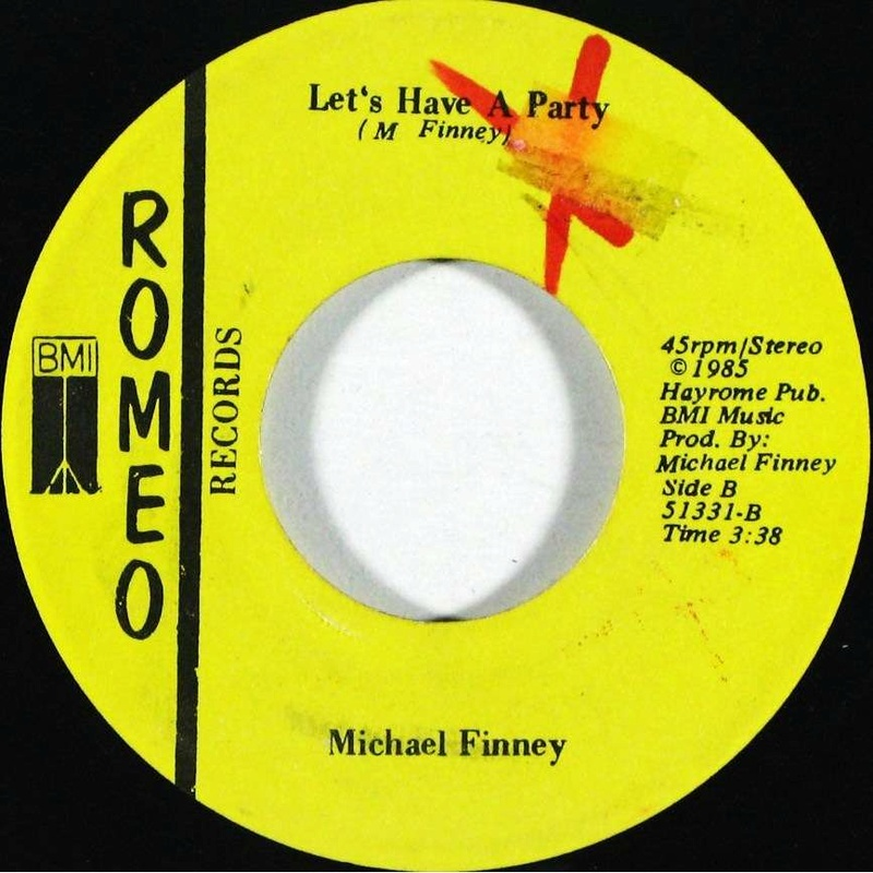 Michael Finney - Let's Have A Party (Romeo Records) (1985) 11740310