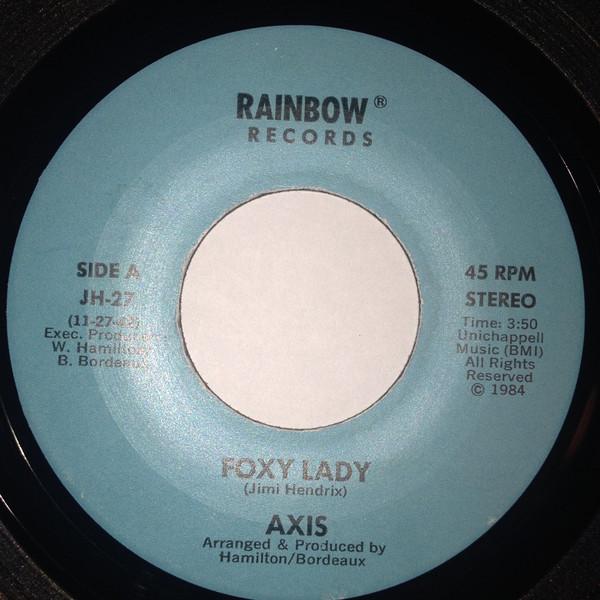Axis - Silver Satin (1984) - Runaway Love (19--) 1410
