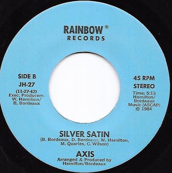 Axis - Silver Satin (1984) - Runaway Love (19--) 1510