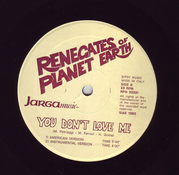 Herbie - You Don't Love Me (Renegates Of Planet Earth)(1983) R-131211