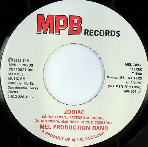 Mel Production Band - Zodiac (MPB Records) (1982) R-262111