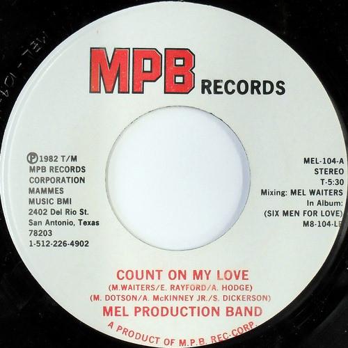 Mel Production Band - Zodiac (MPB Records) (1982) R-262112
